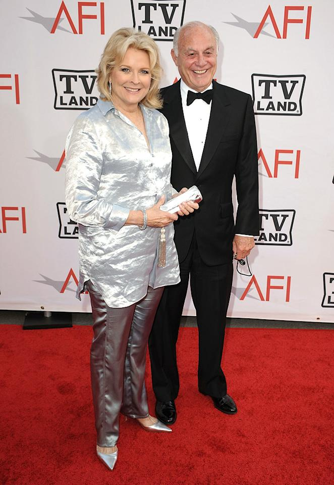"<a href=""http://movies.yahoo.com/movie/contributor/1800010492"">Candice Bergen</a> and Marshall Rose attend the 38th Annual Lifetime Achievement Award Honoring Mike Nichols at Sony Pictures Studios on June 10, 2010 in Culver City, California."