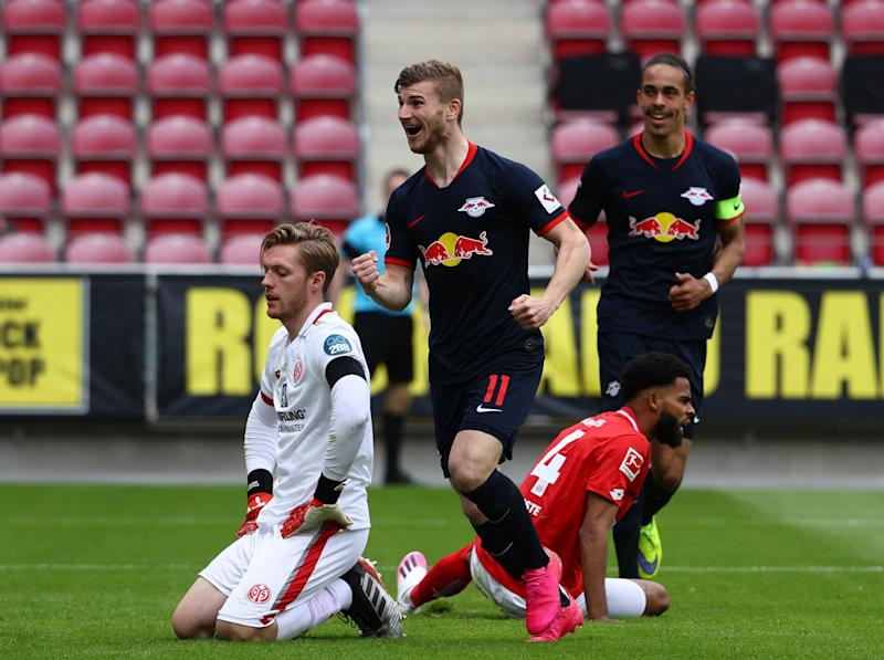 Werner was in scintillating form for Leipzig: Getty
