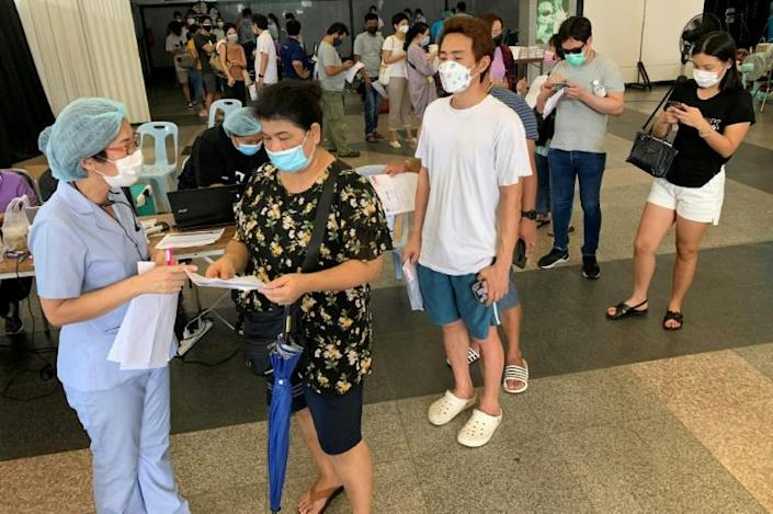Thailand is recording more than 4,000 coronavirus infections a day