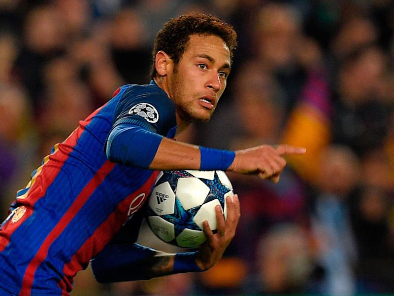 Neymar is a Manchester United target, sure, but he's not planning on leaving Barcelona: Getty