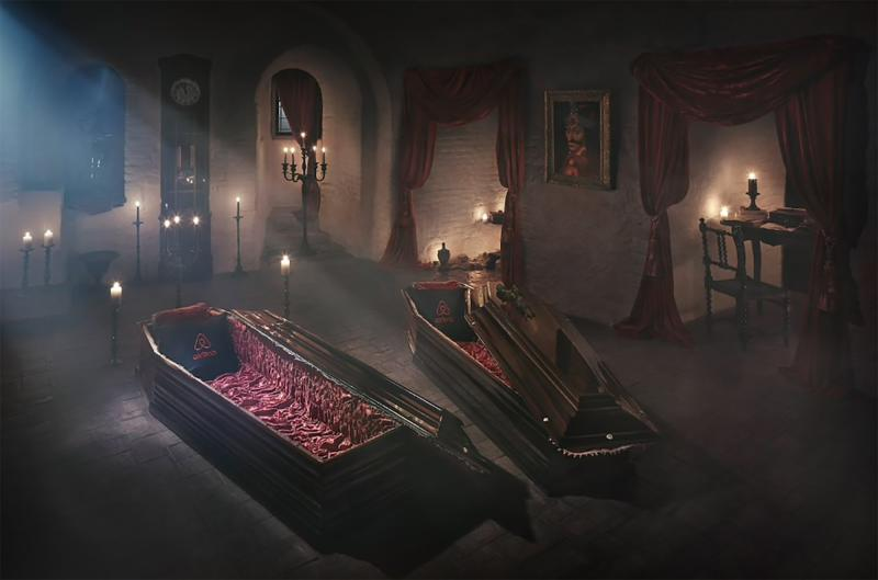 You Can Now Spend Halloween Night at Dracula's Transylvanian Castle