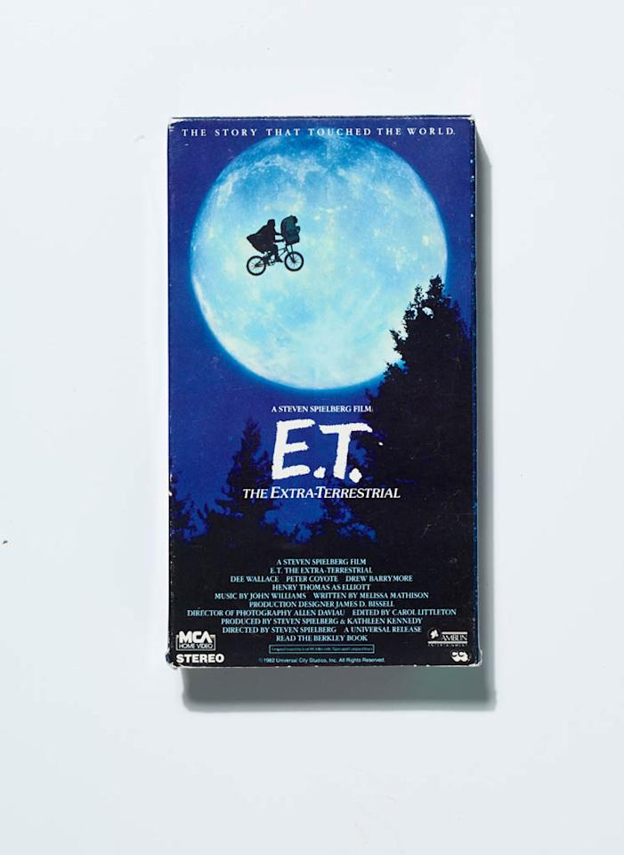 E.T. was a big hit.
