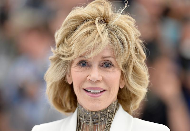 Jane Fonda attends a photocall for