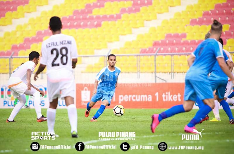 Fittri rues Pulau Pinang's two dropped points against Kuantan