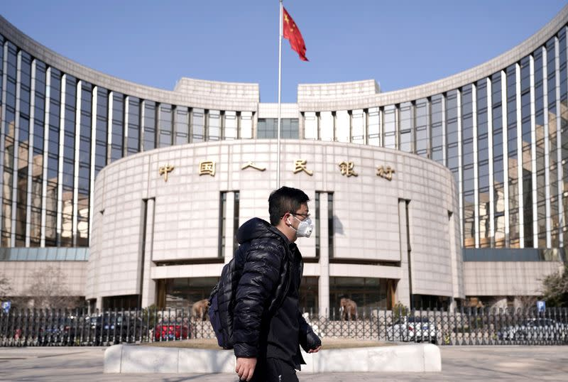 China's central bank vows to take more steps to support virus-hit economy