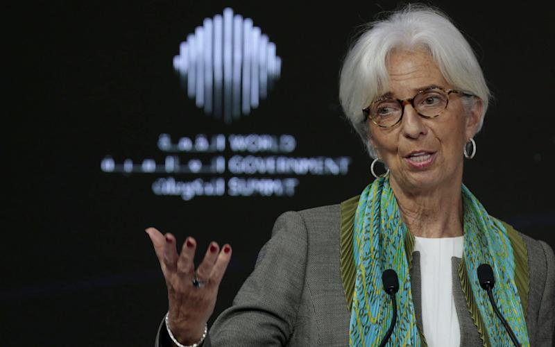 Britain faces years of sub-par productivity growth if it does not reform housing, education, pensions and infrastructure, according to the IMF, headed by Christine Lagarde - REUTERS