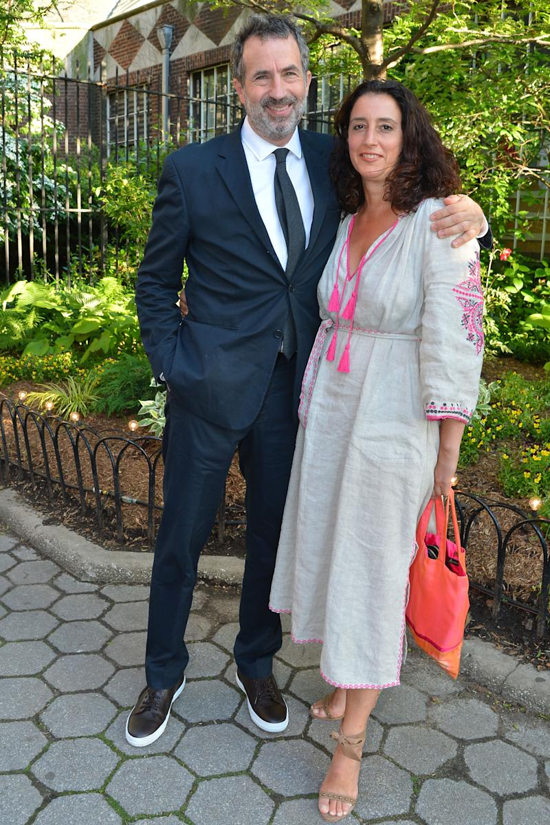 """NEW YORK CITY, NY - JUNE 9: Eric Goode and Rebecca Chaiklin attend the Wildlife Conservation Society """"We Stand for Wildlife"""" at Central Park Zoo on June 9, 2016 in New York City City. (Photo by Patrick McMullan/Patrick McMullan via Getty Images)"""