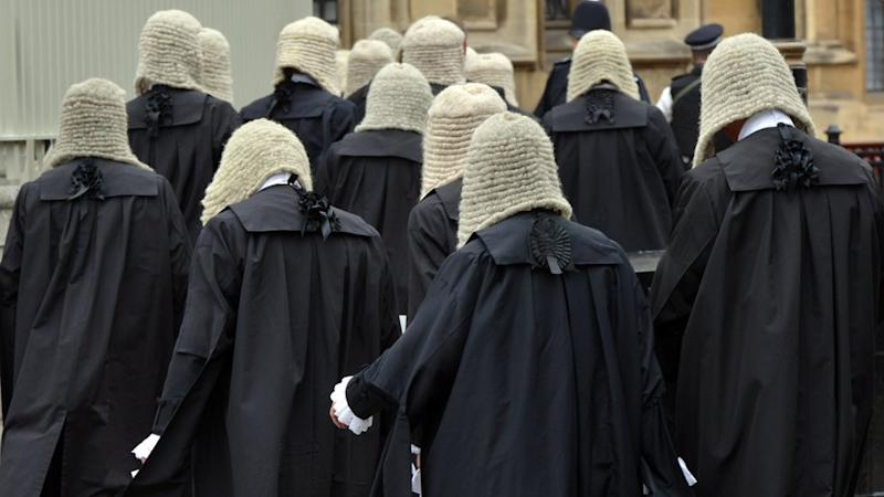 Group of barristers
