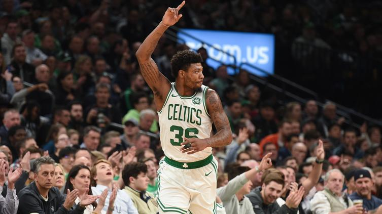 bca8cb72bff6 Danny Ainge pays Marcus Smart the ultimate compliment for Auerbach Award