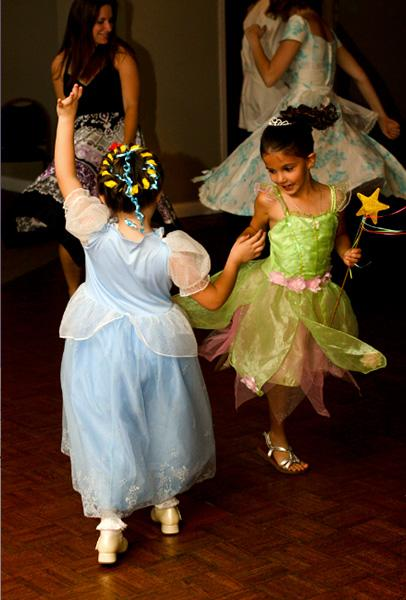 """photo by: Jamie Chandler<br> Guests dressed in costumes such as Captain Hook, Tinkerbell, The Mad Hatter, and Cruella de Ville and danced the night to away to tunes like """"Hakuna Matata""""""""House on Pooh Corner"""", and """"Butterfly Kisses."""""""