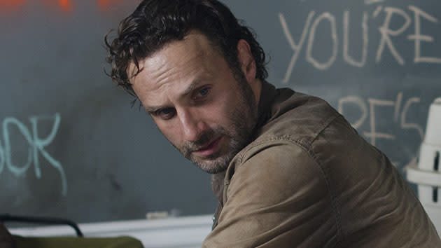 Rick Grimes (Andrew Lincoln) - The Walking Dead - Season 3, Episode 12 - Clear