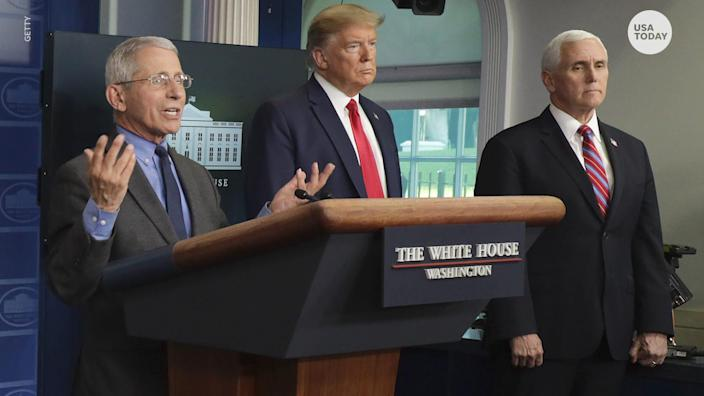 President Trump said coronavirus won't be coming back in the fall, but Dr. Fauci believes otherwise, contradicting the president's statements.