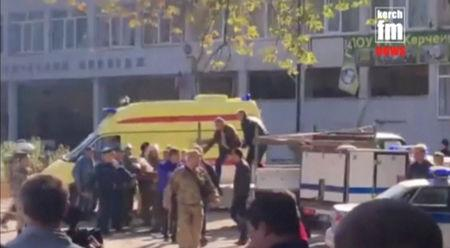 Explosion hits collage in Crimean town of Kerch; several dead