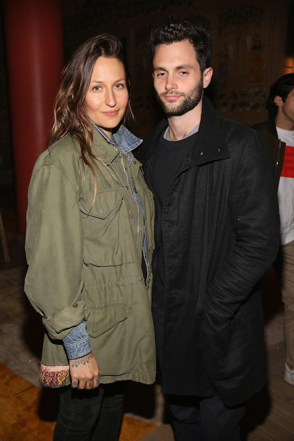 "<p>Domino Kirke announced that she and her husband, Penn Badgley, welcomed a baby boy together. In an <a href=""https://www.instagram.com/p/CFX6apxFFeR/?utm_source=ig_embed"" rel=""nofollow noopener"" target=""_blank"" data-ylk=""slk:Instagram"" class=""link rapid-noclick-resp"">Instagram</a> post, Kirke shared a photo of her placenta.</p> <p>""His heart shaped home,"" she wrote.</p>"
