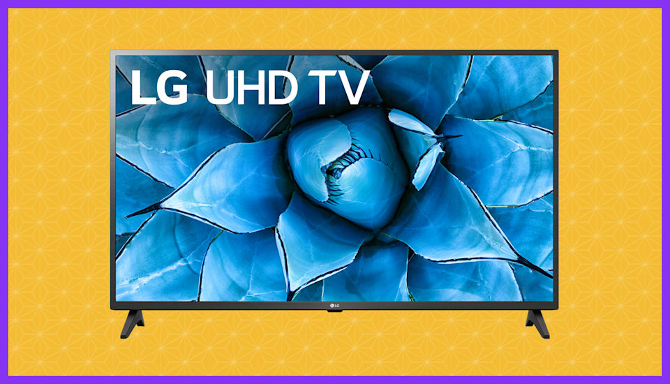 Colors pop on this LG 4K TV. (Photo: Walmart)
