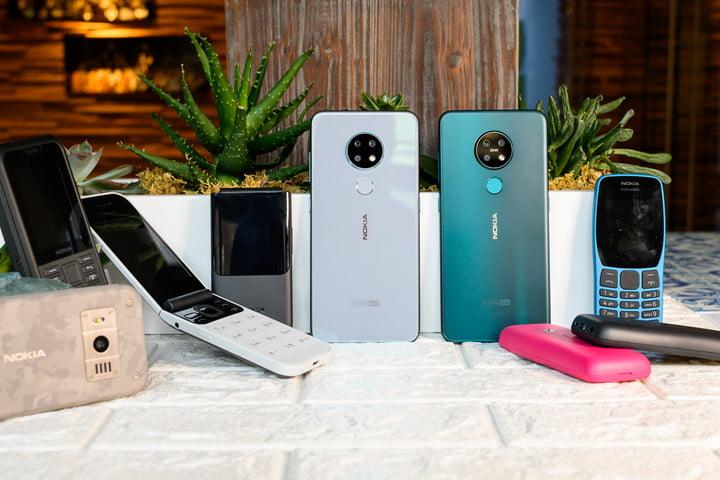 HMD Global's five new Nokia phones range from cute to