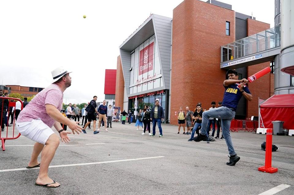 Some 85,000 tickets were sold for the first four days at Old Trafford (Martin Rickett/PA) (PA Wire)