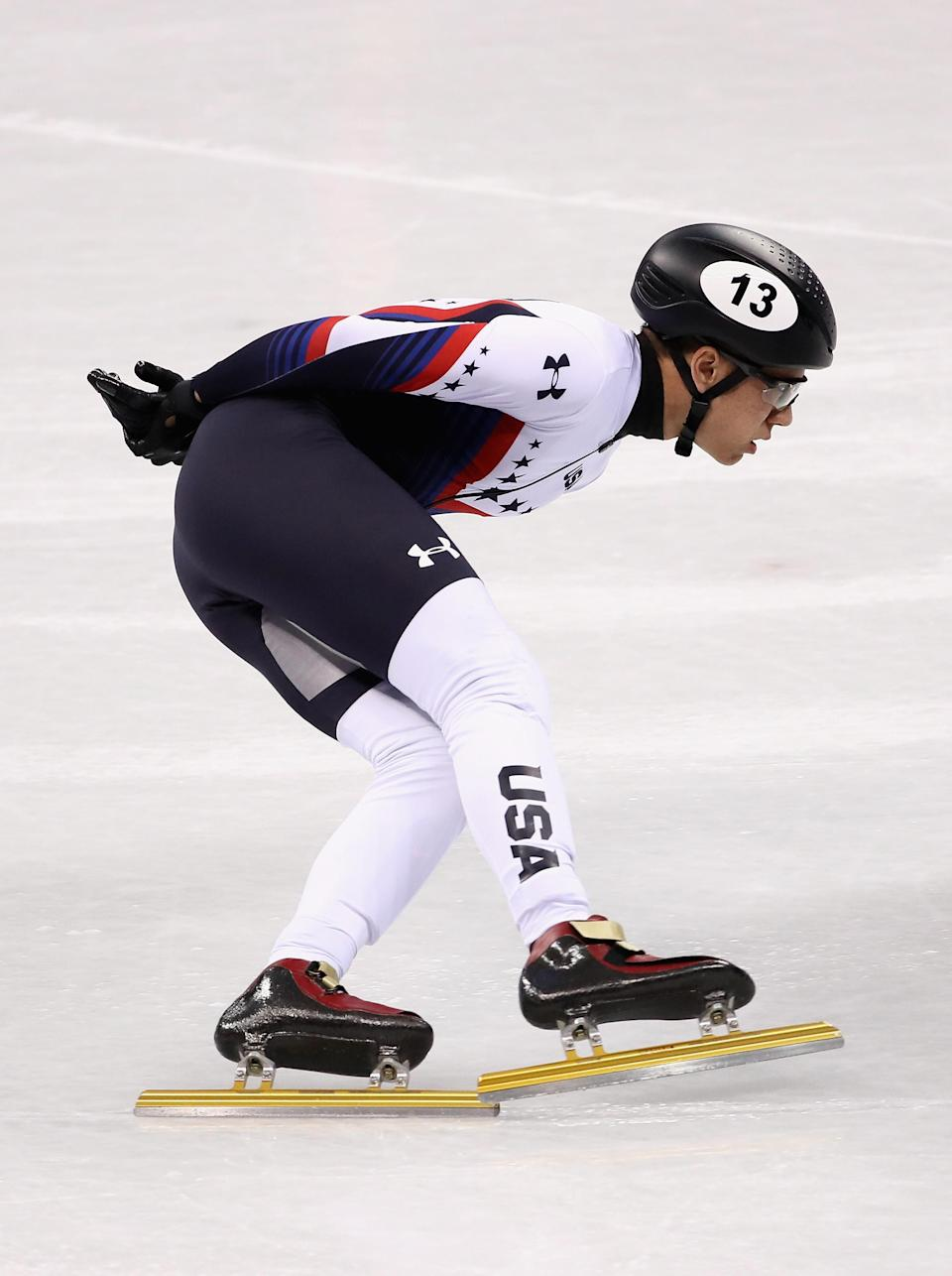 J.R. Celski is one of three of the United States' top speed skaters from Washington.