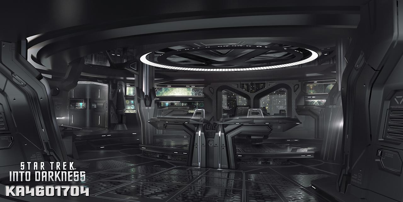 "Concept Art from Paramount Pictures' ""Star Trek Into Darkness"" - 2013"