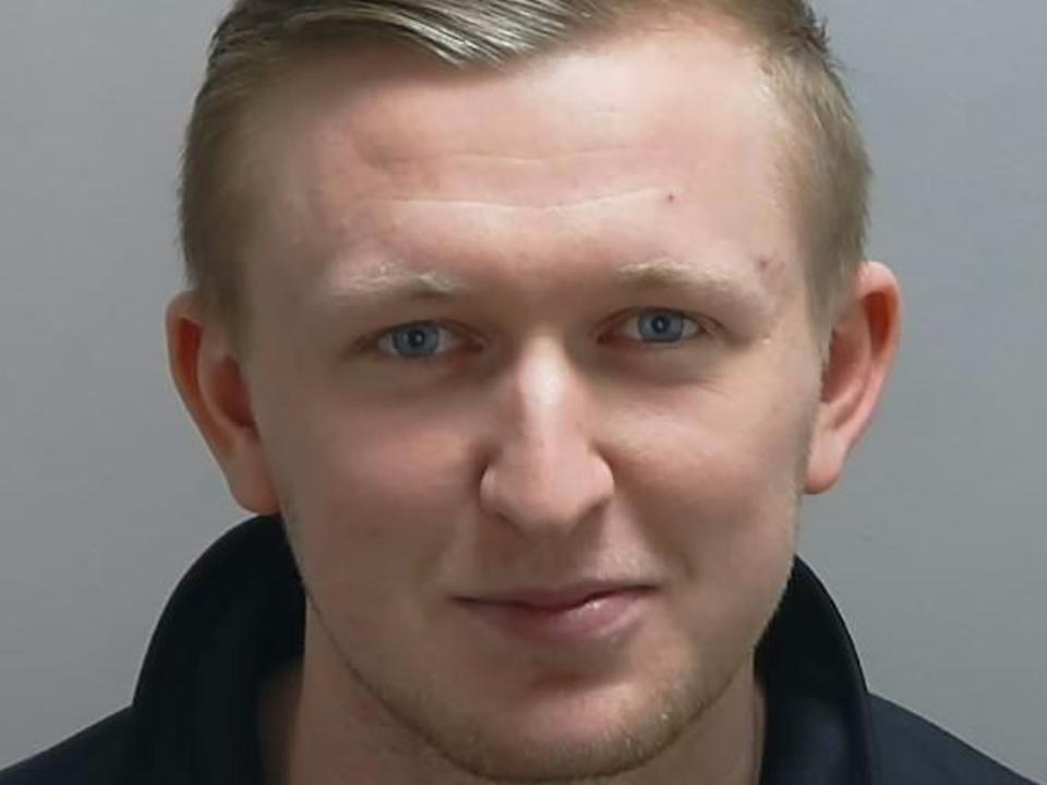 Bradley Young, 24, stole the money while working at Platinum Care At Home in Hampshire. (Police)