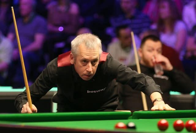 Former world finalist Nigel Bond says young players need to toughen up (Nigel French/PA)