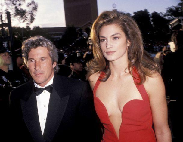PHOTO: Richard Gere and Cindy Crawford attend the 63rd Annual Academy Awards at the Shrine Auditorium in Los Angeles, March 25, 1991. (Jim Smeal/Ron Galella Collection via Getty, FILE)