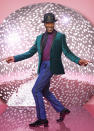 """<p>John-Jules concluded by telling us that he's not worried about being critiqued by the judges at all: """"To be judged as someone in show business is just like a milkman delivering milk!"""" (BBC Pictures) </p>"""