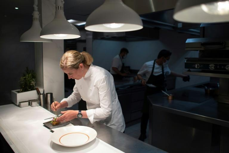 """Clare Smyth says getting the third Michelin star for her Core restaurant was a """"dream come true"""""""