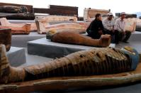 Egyptian antiquities announce details of a 2,500-year-old discovery