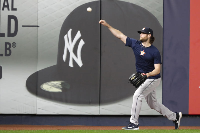 Is it inevitable that Gerrit Cole will end up with the New York Yankees? (AP Photo/Kathy Willens)