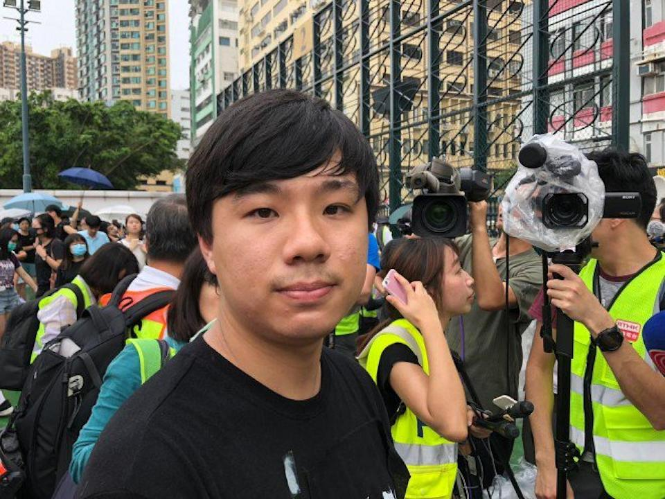 Timothy Lee beat incumbent Jimmy Lam by 170 votes in the November 2019 polls. Photo: SCMP