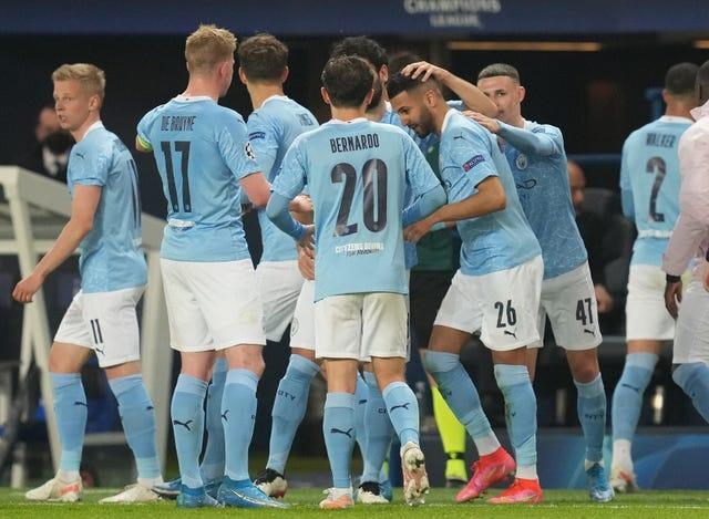 City secured a memorable victory in the first leg last week