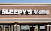 """<p>Otherwise known as the place where you'd jump on mattresses while staff glared at you. FYI, Sleepy's was acquired by Mattress Firm in 2015, so now all former Sleepy's stores go by the name """"Mattress Firm.""""</p>"""
