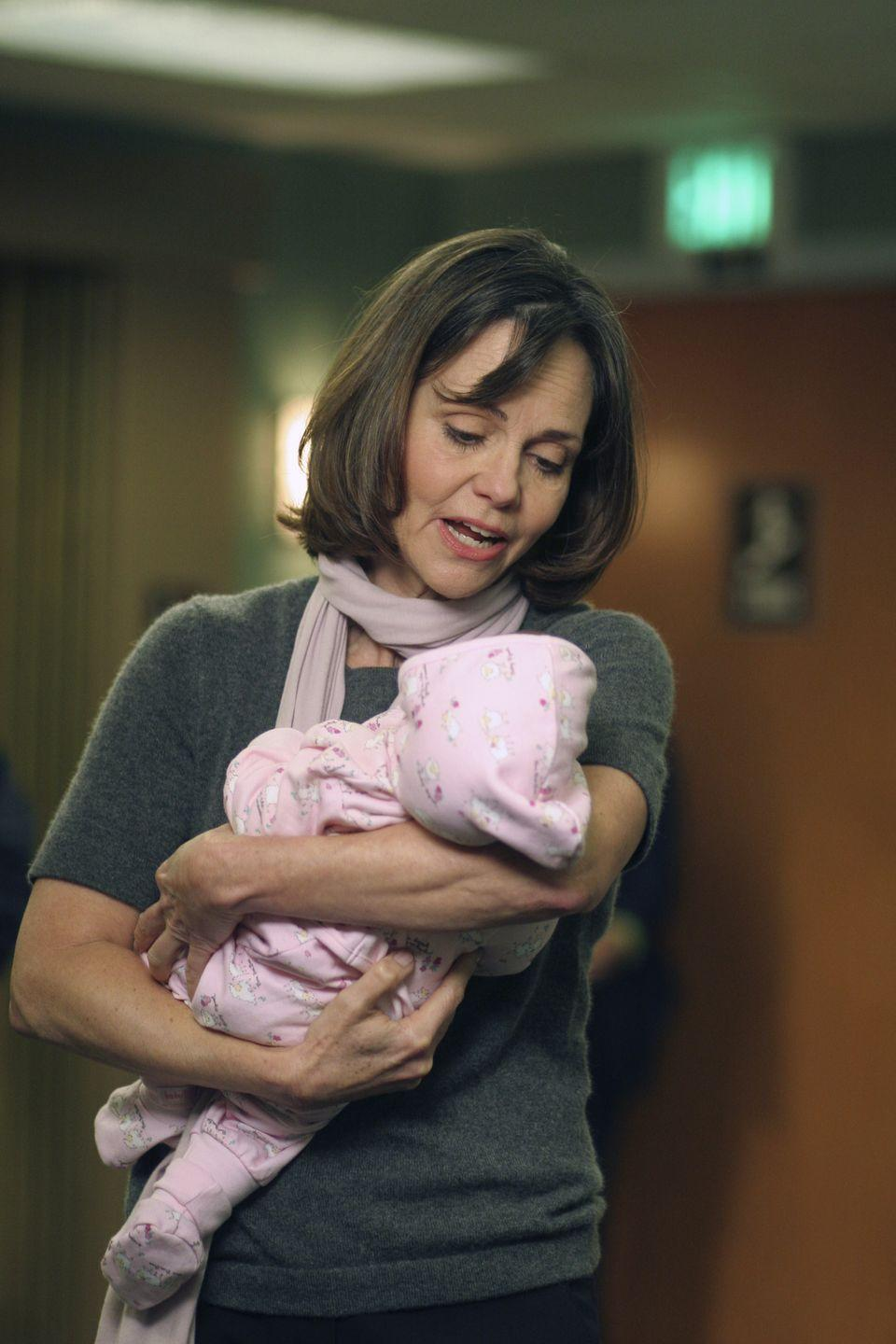 <p>Sally Field played the reoccurring role of Abby Lockhart's (Maura Tierney) mother, Maggie Wyczenski. Although her character's relationship with the rest of the characters was complicated, Field continued to make guest appearances from 2000 until 2006. </p>