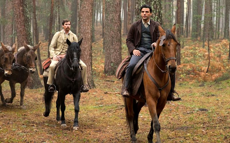 Oscar Isaac also stars in the film - Credit: Jose Haro/Open Road Films via AP