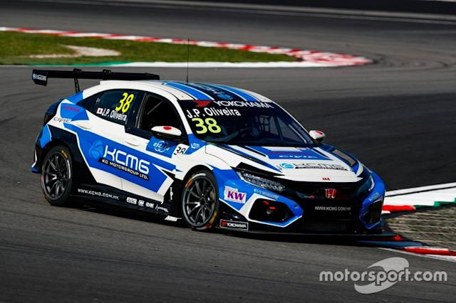 "Joao Paulo de Oliveira, KC Motorgroup Honda Civic TCR <span class=""copyright"">WTCR WTCR </span>"