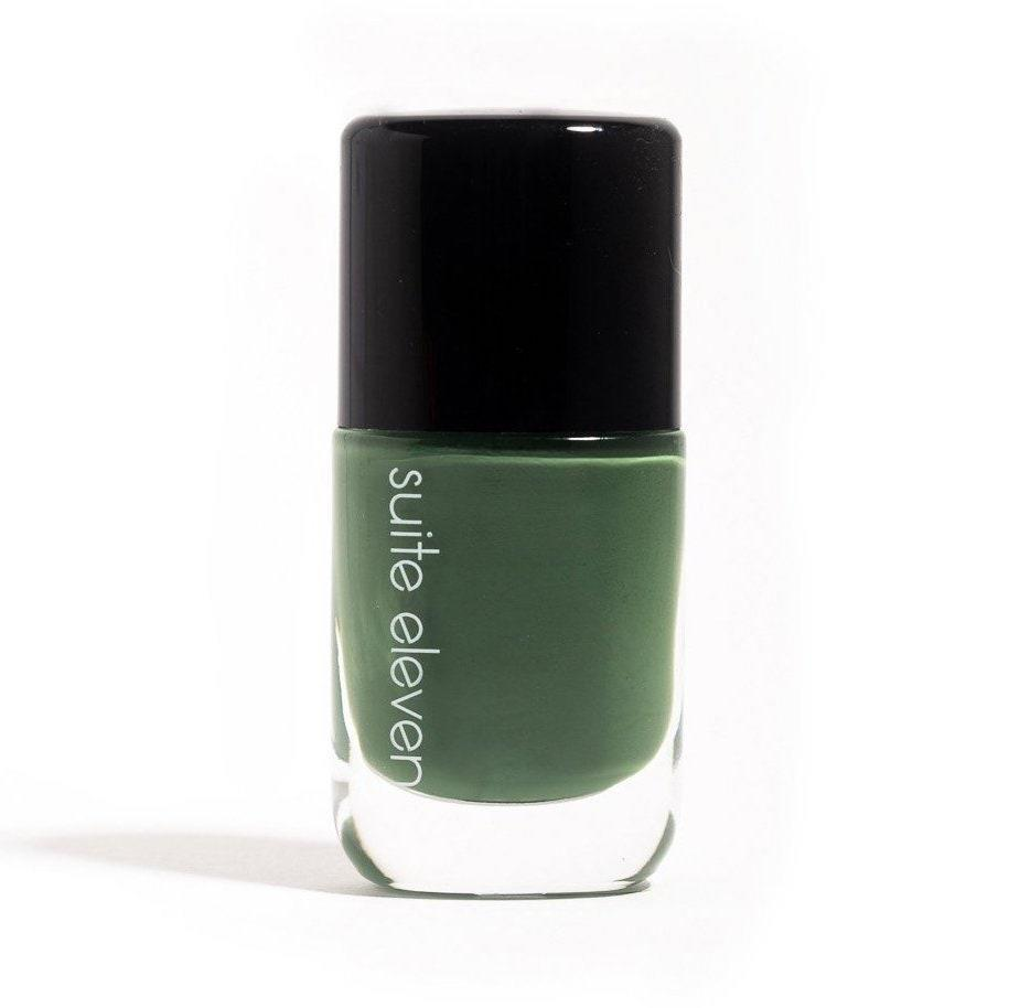 The founder of Suite Eleven launched the brand when she realized certain cosmetic ingredients were causing allergic reactions, so needless to say, unnecessary and unwelcome ingredients are nowhere to be found in this nail lacquer. The vegan, 10-free polishes are made in small batches, so some patience is required if the color you're after (say, NY Who? right here) is currently sold out, but it's absolutely worth the wait for the gorgeous, glossy finish.