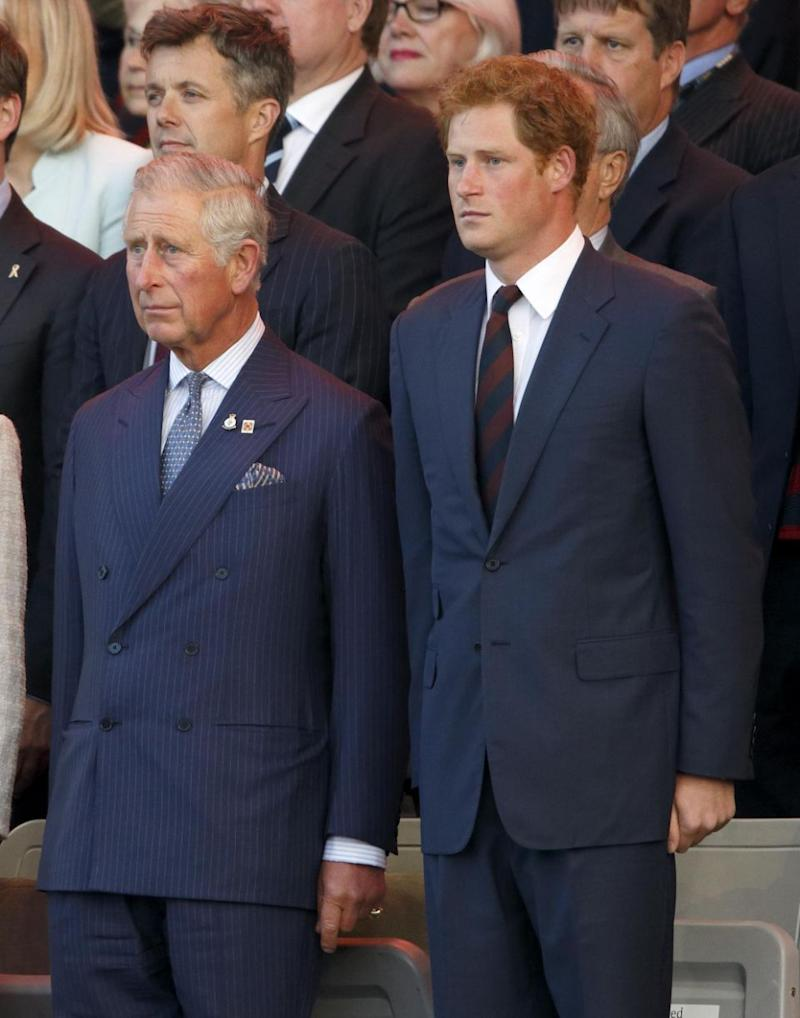 Prince Harry and Prince Charles are said to be at loggerheads over royal wedding plans. Photo: Getty Images