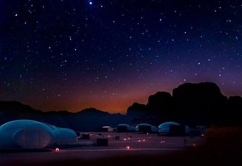 Jordan, with its clear desert skies, is one of the best places to see shooting stars - Credit: istock