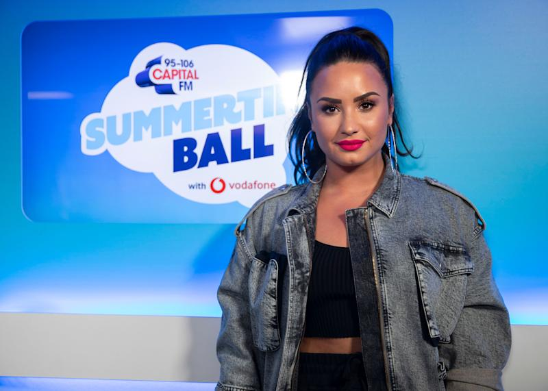 Demi Lovato at the Summertime Ball
