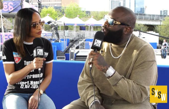 Rick Ross Recounts Spending Time With Scientologists