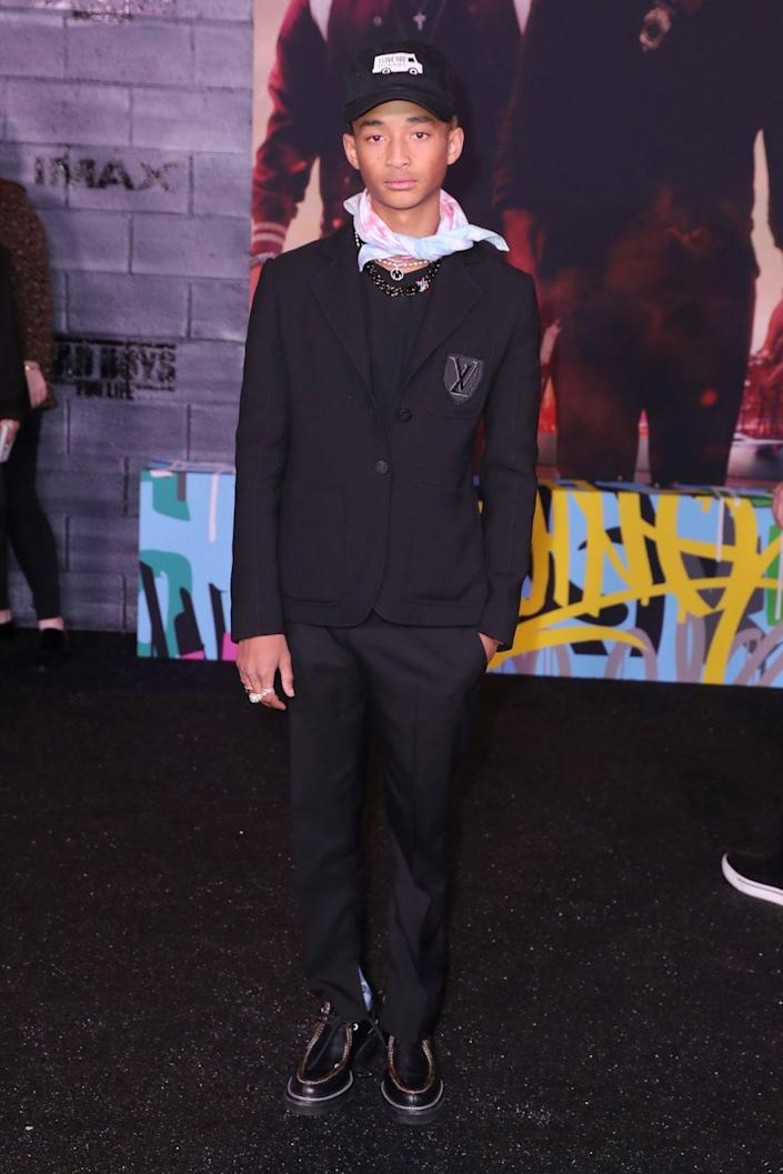 "<p>Now 21, Jaden has been working as an actor, musician, and model for years. He most recently provided his voice in the series ""Neo Yokio."" </p>"