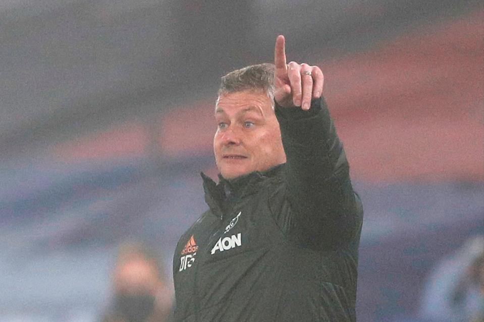 "<p>Solskjaer: ""We kept giving the ball away""</p> (POOL/AFP via Getty Images)"