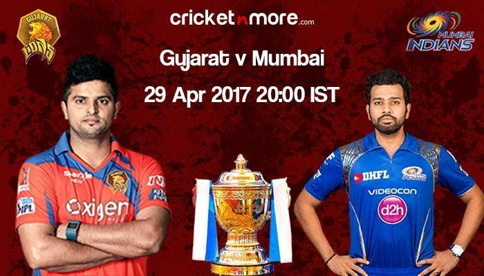 IPL 10: Improving Gujarat Lions face comfortable Mumbai Indians