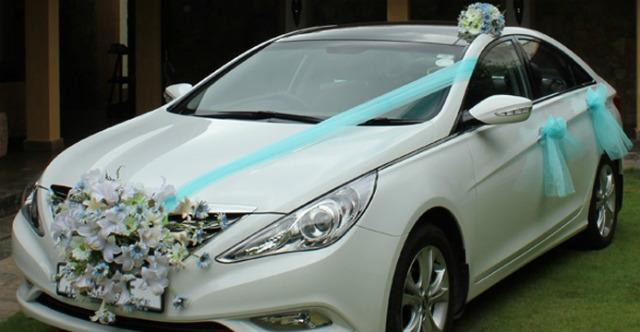 Hyundai Sonata bridal car