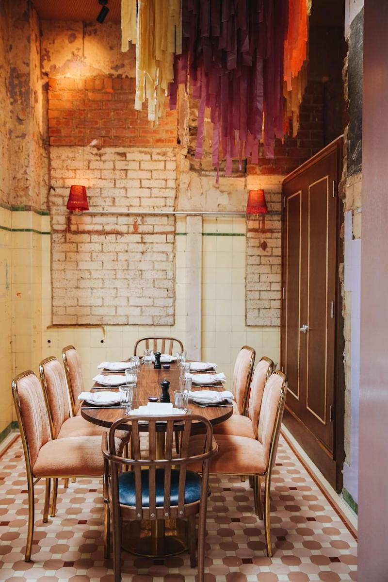 Fancy nooks for late night dinner parties with flair. Photo: The Imperial Hotel Erskineville