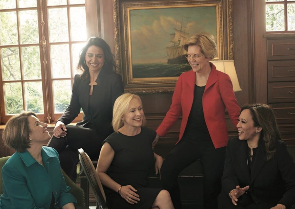 Female Presidential Candidates Pose For Vogue