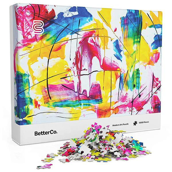 BetterCo. Modern Art Puzzle for Adults (Photo: Amazon)