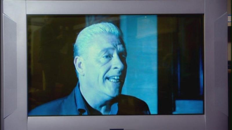 In a rare moment of self-awareness from Derek Acorah, he appeared in a brief cameo role during the episode 'Army Of Ghosts', joking that he'd no longer be of use once ghosts began to roam the earth. It was a blink-and-you'll-miss-it appearance on a TV screen, but we enjoyed it nontheless.