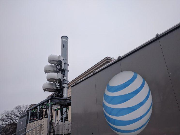 Wireless providers at inauguration.